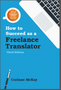 How to Succeed as a freelance translator book MA in Translation