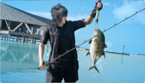 Translation of Final Fantasy XV Fishing
