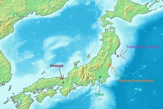 6 Years Ago – The Tohoku Earthquake from Osaka