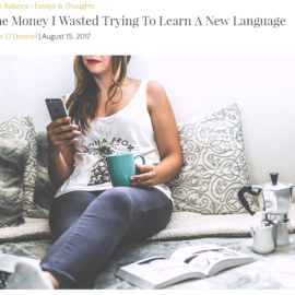 The Financial Diet – Money Wasted on Learning Japanese