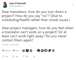 How To Turn Down a Translation Job