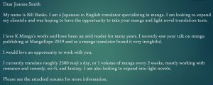 Webinar for Freelance Entertainment Translators: Finding Clients, Writing Cover e-mails, Resumes
