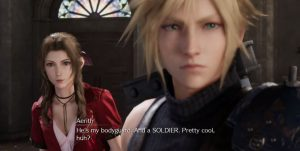 Localization of Final Fantasy VII Remake Aerith