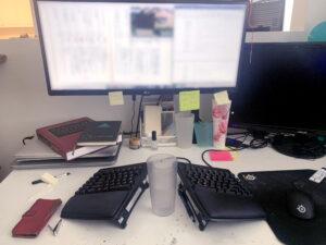 Katrina Leonoudakis Desk